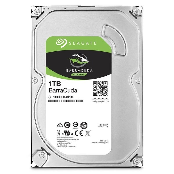 Seagate St1000dm010 1Tb Barracuda Sata 32Mb Cache 3.5-Inch Internal Hard Drive