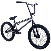 "Elite 20"" BMX  - Stealth Bicycle Freestyle Bike - Gunmetal Grey"