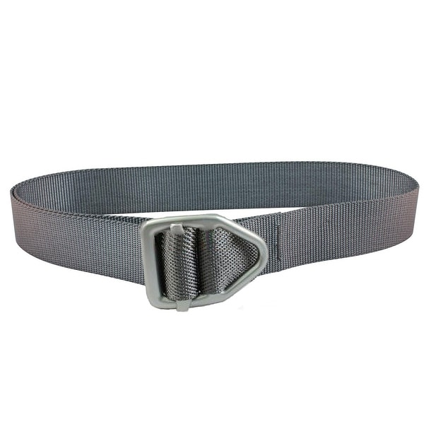 Bison Designs Last Chance Light Duty Gunmetal Buckle Belt - Graphite