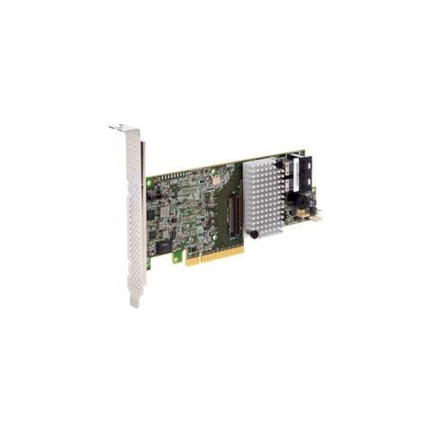 Intel RS3DC080 Intel RAID Controller RS3DC080 - 12Gb/s SAS - PCI Express 3.0 x8 - Plug-in Card - RAID Supported - 0, 1, 5, 10,