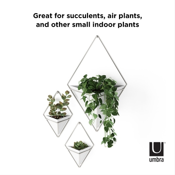 Umbra TRIGG SMALL Wall Vessel (Set of 2). Opens flyout.