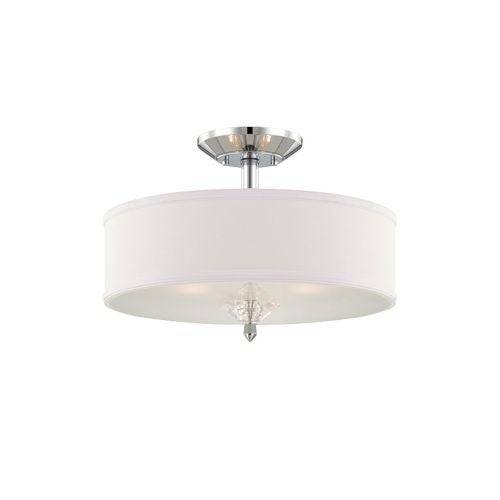 Designers Fountain 84211 Palatial 3 Light Semi-Flush Ceiling Fixture