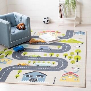 Link to Safavieh Kids Playhouse Garda Neighborhood Rug Similar Items in Rugs