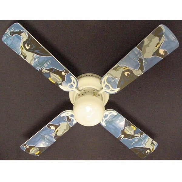 Children's Batman 42in Ceiling Fan Light Kit - Multi