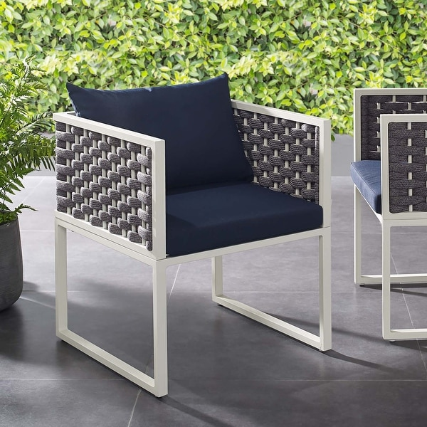 Stance Outdoor Aluminum Dining Armchair. Opens flyout.