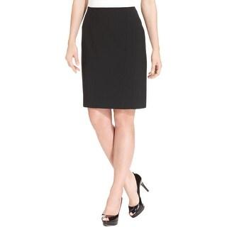 Anne Klein Womens Pencil Skirt Ponte Knee-Length