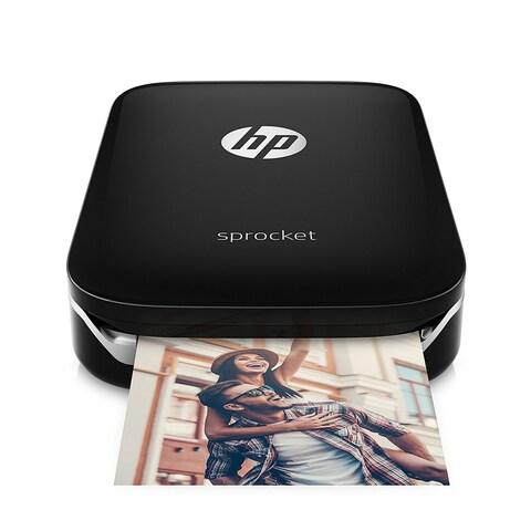 HP Sprocket Portable Photo Printer (Black) - black