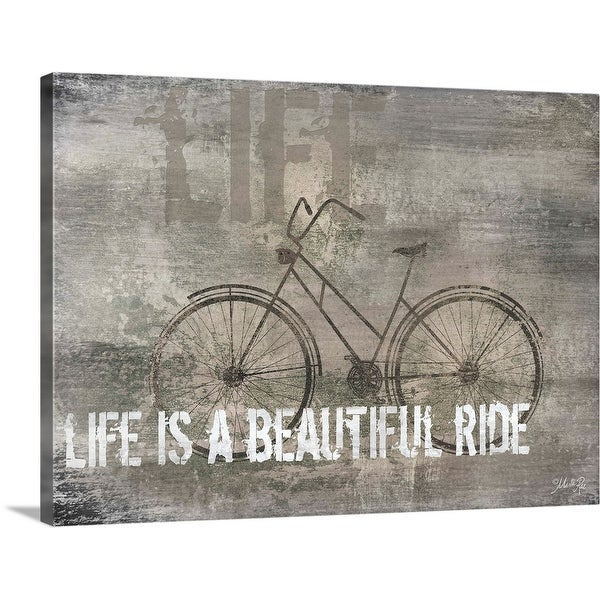 """""""Life is a Beautiful Ride"""" Canvas Wall Art"""