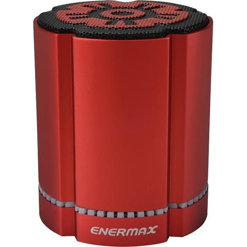 Lepatek corporation eas02s-r enermax stereosgl bt speaker - Red