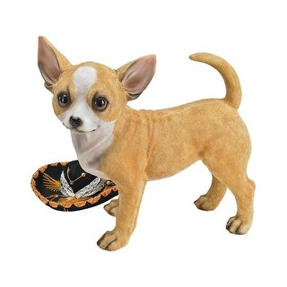 Fernando the Chihuahua Statue DESIGN TOSCANO dog dogs pets pet Chihuahua