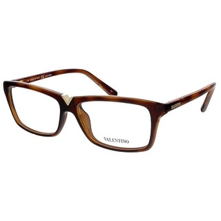 Valentino V2665 214 Havana Rectangular Valentino Eyewear