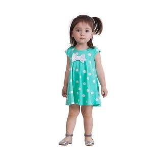 Pulla Bulla Baby Girl Infant Bow Polka Dot Dress
