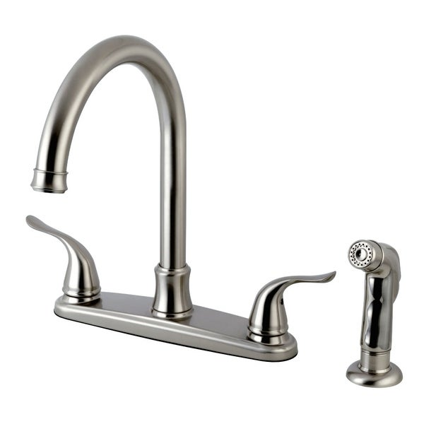 Kingston Brass FB779.YLSP Yosemite 1.8 GPM Centerset Kitchen Faucet