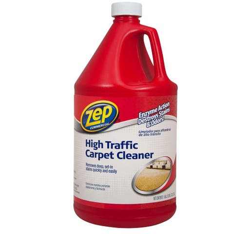 Zep Commercial ZUHTC128 High-Traffic Carpet Cleaner, 1-Gallon