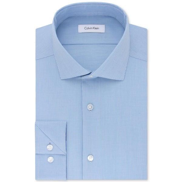 Calvin Klein Mens Big & Tall Dress Shirt Performance Non-Iron. Opens flyout.