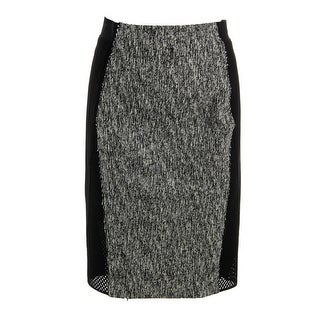 Elie Tahari Womens Willow Textured Knee-Length Pencil Skirt - 0