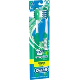 Oral-B Complete Fresh Scope Scented Medium Bristles Toothbrush 40, 2 count