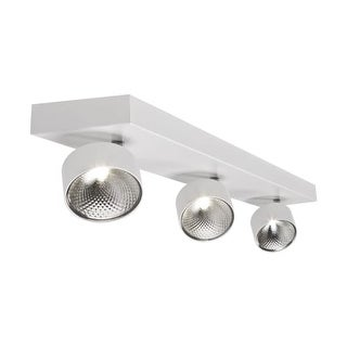 "Bazz Lighting C14191 Focus 3 Light 22"" Wide Integrated LED Flush Mount Ceiling F"