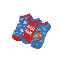 Wonder Woman Women's Ankle Socks - 3 Pack