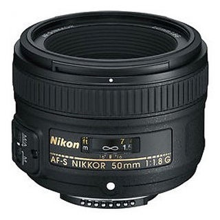 Nikon AF-S NIKKOR 50mm f/1.8G Lens - Black