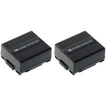 Battery for Panasonic (CB-DU07A/1B) 2-Pack Replacement Battery