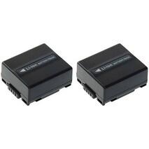 Replacement CB-DU07A/1B Battery f/ Panasonic PV-GS200 / PV-GS59 / VDR-D230 Camcorder Models 2 Pk