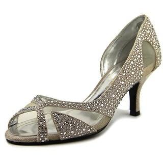 Caparros Zofia Women Open-Toe Canvas Heels