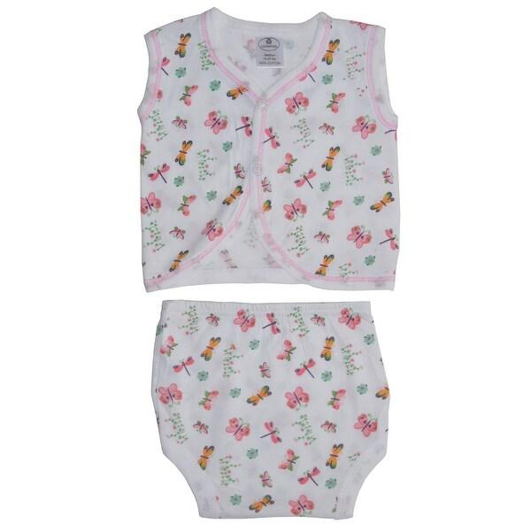 Bambini Diaper Shirt & Panty - Size - Medium - Girl