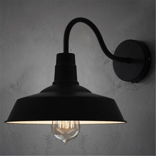 Industrial Gooseneck Barn Warehouse Wall Sconce
