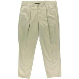Lee Mens Cotton Solid Khaki Pants - 40/29