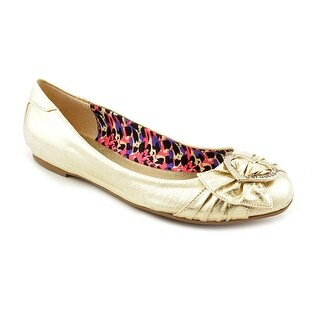 G By Guess Focused Women Round Toe Canvas Flats