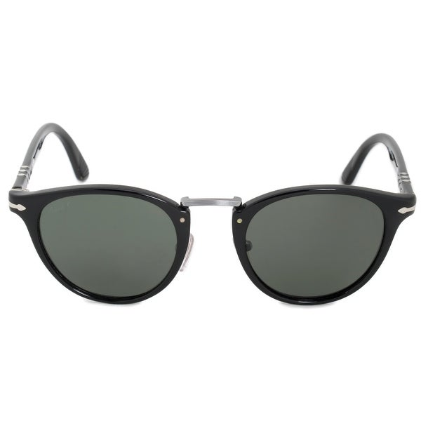 13774efe8d Shop Persol Typewriter Edition Oval Sunglasses PO3108S 95 58 49 ...