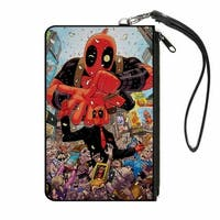 Deadpool 2016 Issue #1 Parade Balloon Cover Pose Canvas Zipper Wallet