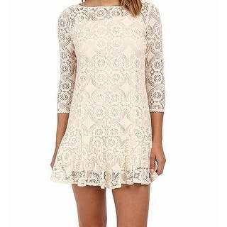 Quick View.  26.97. Free People Womens Floral Lace Knit Shift Dress. Quick  View c7584e1a4