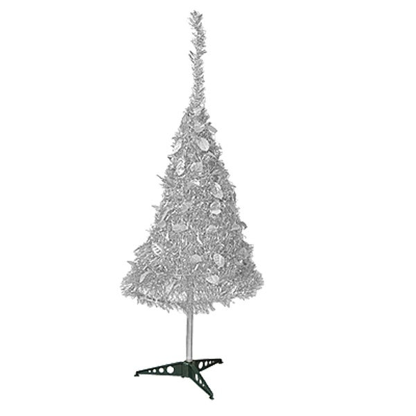 Unique Bargains X'mas Party Decorative Shiny Collapsable Christmas Tree