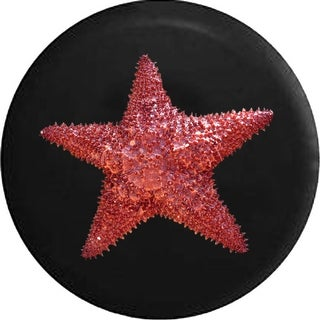 Link to Spare Tire Cover Red Starfish Realistic Similar Items in Billiards & Pool