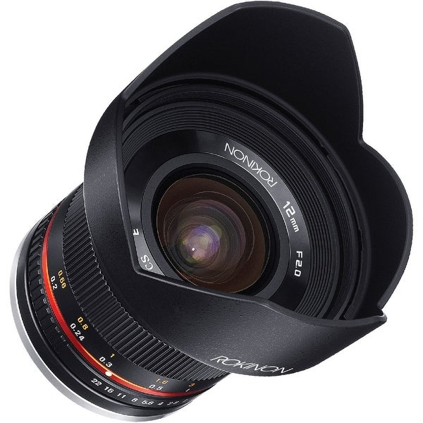 Rokinon 12mm f/2.0 NCS CS Lens for Canon EF-M Mount (Black) - black