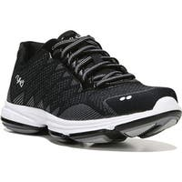 Ryka Women's Dominion Walking Shoe Black/White