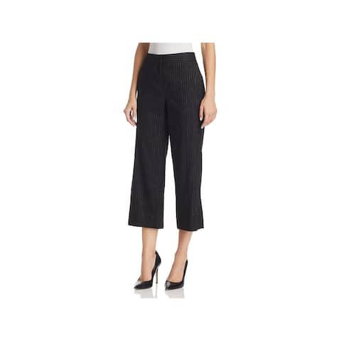 Kobi Halperin Womens Kiera Cropped Pants Crepe Flat Front
