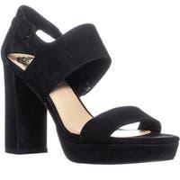 Vince Camuto Jayvid Block Heel Sandals, Black