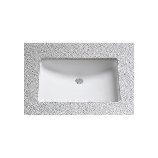 """Toto LT540G  21-1/4"""" Undermount Bathroom Sink with Overflow and CeFiONtect Ceramic Glaze"""