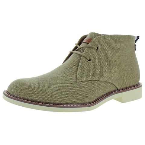 Tommy Hilfiger Mens Gervis 4 Chukka Ankle Lace-Up