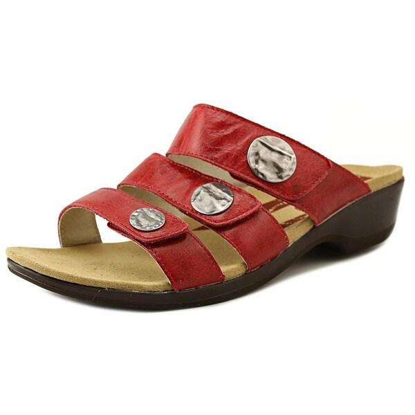 Propet Annika Slide Women N/S Open Toe Leather Slides Sandal