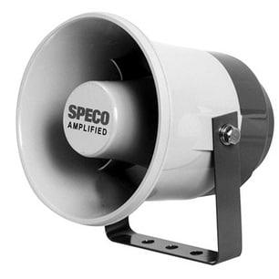 "Speco Technologies Amplified 6"" PA Horn (20W)"