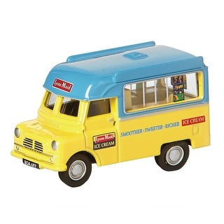 Unisex-Adult Vintage British Ice Cream Trucks: Lyon's Maid - Die Cast Metal Collectable - MultiColor