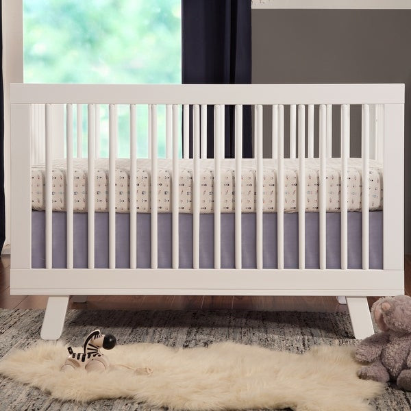 Babyletto Hudson 3-in-1 Convertible Crib w/ Toddler Bed Conversion Kit. Opens flyout.