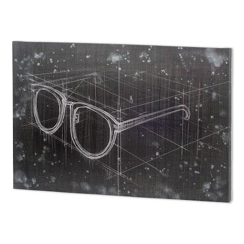 Mercana Glasses II (52 x 37 ) Made to Order Canvas Art - Multi