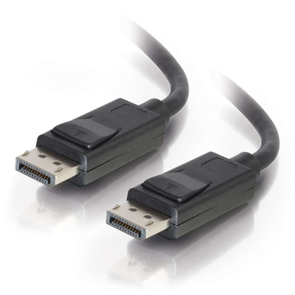 C2g/Cables To Go 54400 Display Port Cable With Latches M/M, Black(3 Feet)By C2g