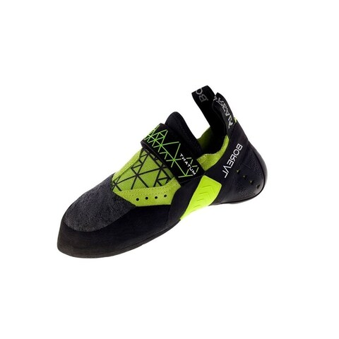 Boreal Climbing Shoes Mens Mutant Leather Black Yellow