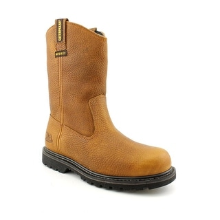 Caterpillar Edgework Men Round Toe Leather Work Boot